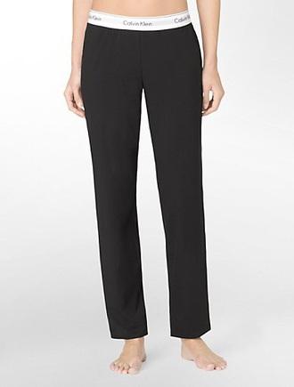 pants calvin klein black lounge pants