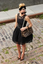 atlantic pacific,dress,shoes,bag,jewels,sunglasses,black dress,lace,lace dress,cute,black lace,omfg,a-line,black lace dress