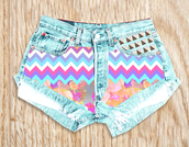 shorts,denim shorts,high waisted denim shorts,denima,ribalf,lorals,ummer,excited,summer dressf,ashion,swag,beach,spring break,fashion,aztec,nike,tribal pattern,print,ootd,outfit,High waisted shorts,beachwear