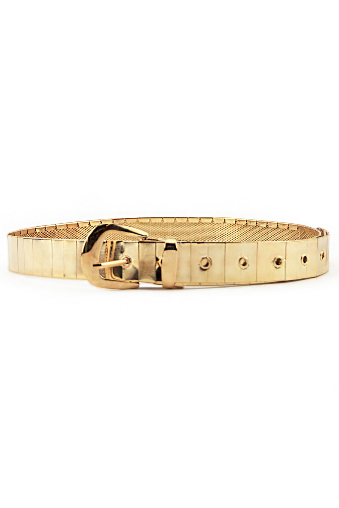 SOLID GOLD WRAP BELT - Gold | Haute & Rebellious