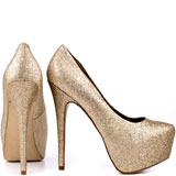 Dejavu - Gold Glitter, Steve Madden, 129.99, FREE 2nd Day Shipping!