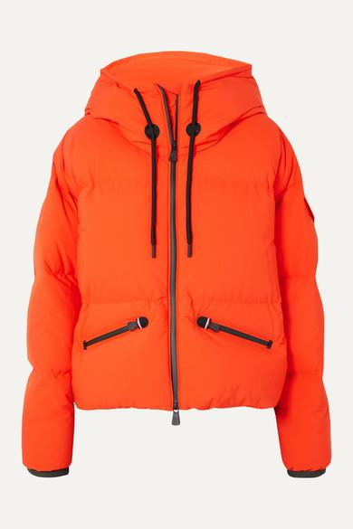 Moncler Grenoble - Airy Oversized Quilted Down Ski Jacket - Orange - Airy Oversized Quilted Down Ski Jacket