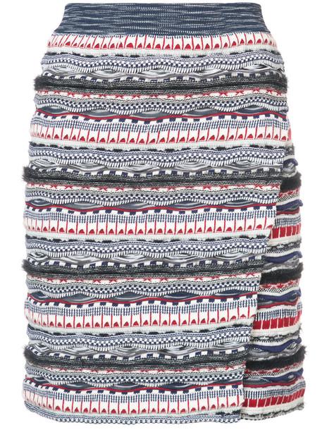 skirt high waisted high women cotton knit