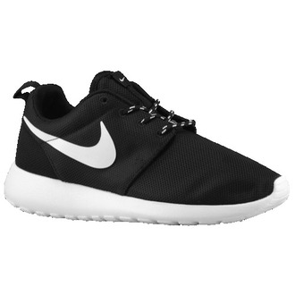 shoes nike black white nike roshe run tumblr stripes chic tomboy anything shabby chic shirt roshe runs cool