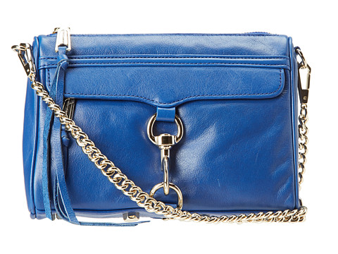 Rebecca Minkoff Mini M.A.C. Electric Blue - Zappos.com Free Shipping BOTH Ways