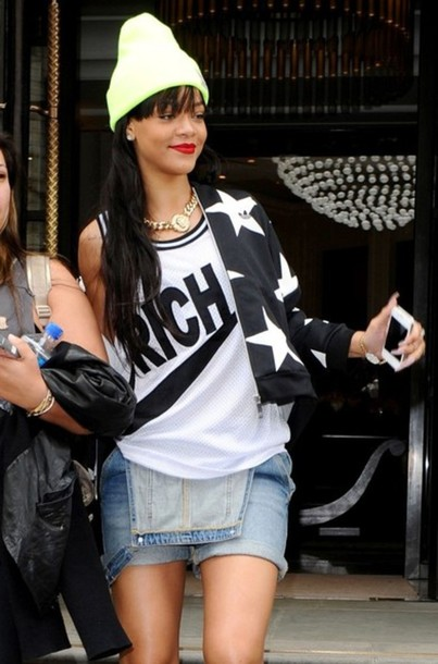 Tank Top Clothes Rihanna Nike Top White Out Swag