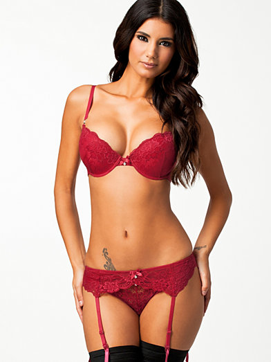 Angel Push - Up Set - Wonderland - Red - Complete Sets - Underwear ...