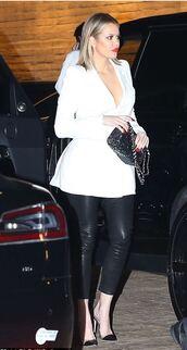 jacket,pumps,khloe kardashian,shoes