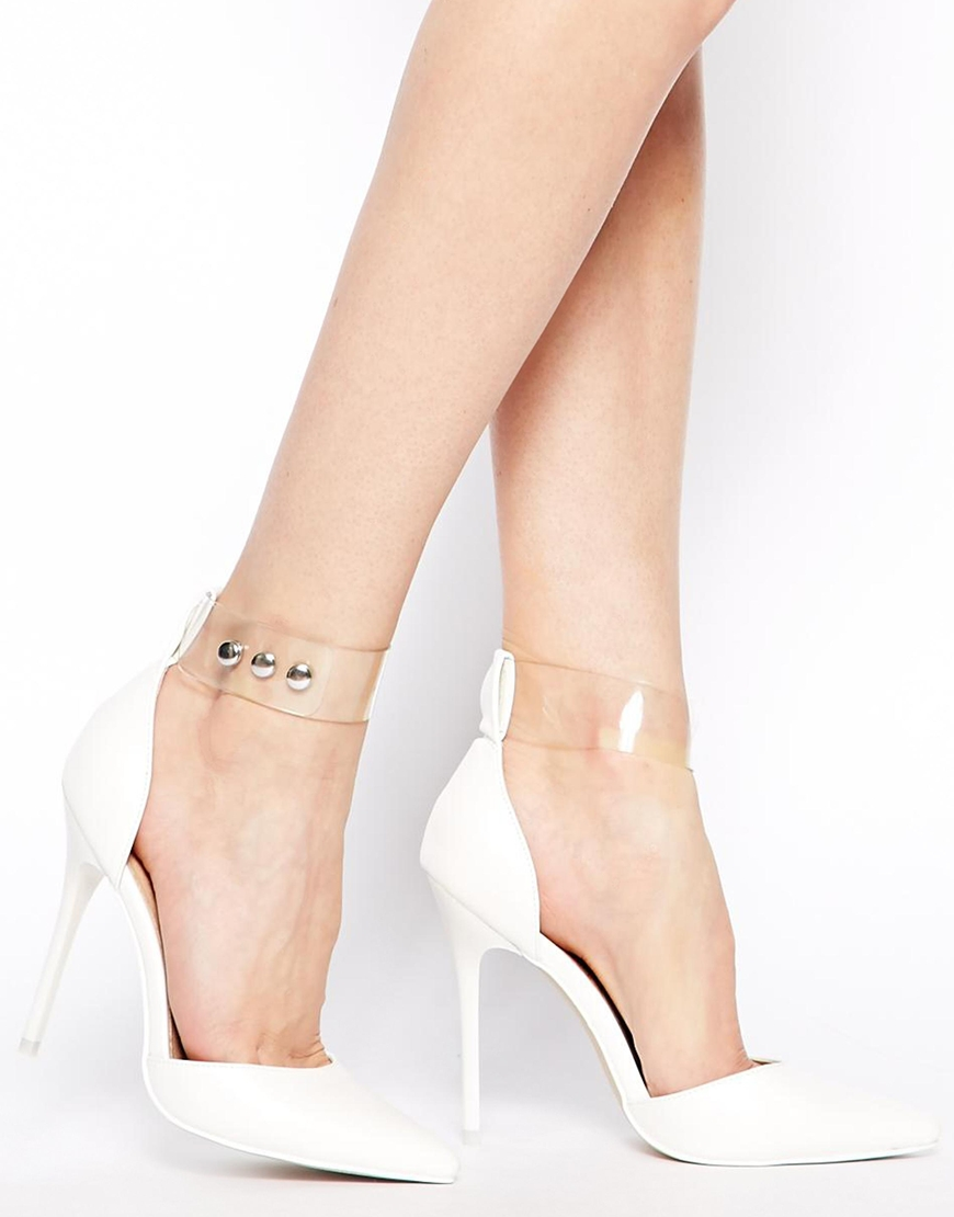 ASOS POTTER Pointed High Heels at asos.com