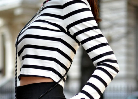 wish wish wish blouse striped blouse striped top stripes black and white
