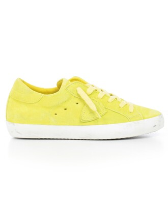 sneakers yellow shoes