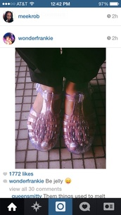 shoes,jellies