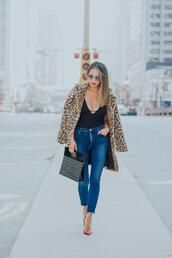 redsolesandredwine,blogger,coat,leggings,pants,dress,shoes,sweater,skinny jeans,pumps,chanel bag,leopard coat,fall outfits