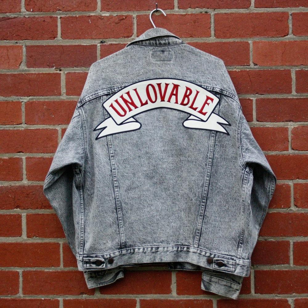 Unlovable Denim Jacket (Levi - Large