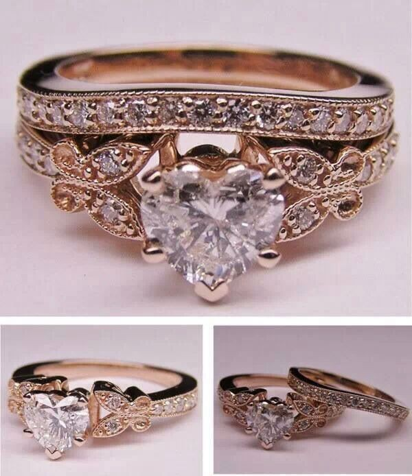 jewels ring gold heart
