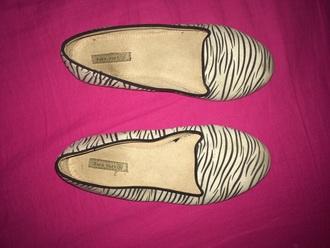 shoes zebra