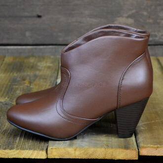 shoes western ankle boots boots vegan leather modern western