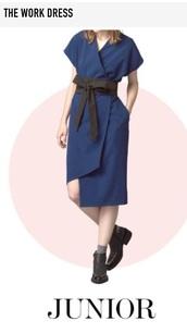 dress,wrap dress,black,kimono,navy dress