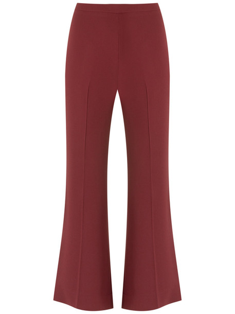 Andrea Marques cropped women red pants