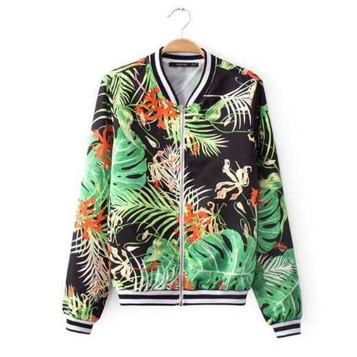 Forrest Print Pocket Coats