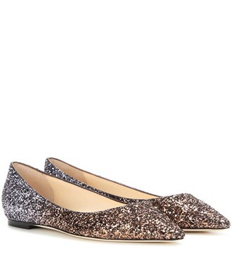 glitter silver shoes
