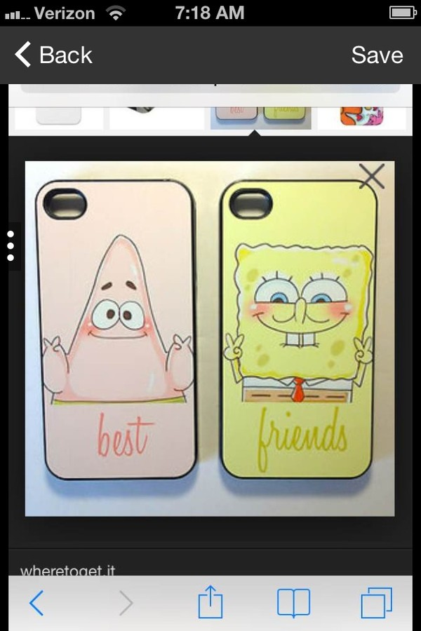 bag sponge bob and patrick spongebob