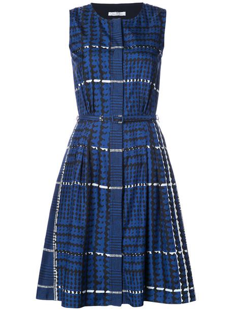 dress pleated dress pleated women blue silk