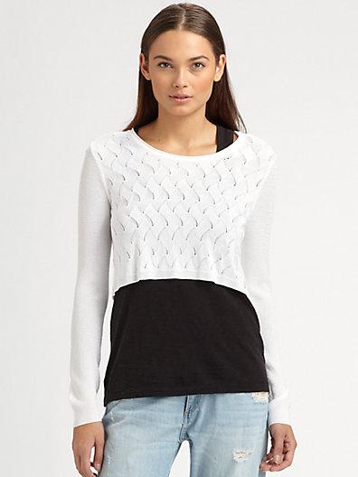Rag & Bone - Belle Cropped Sweater - Saks.com
