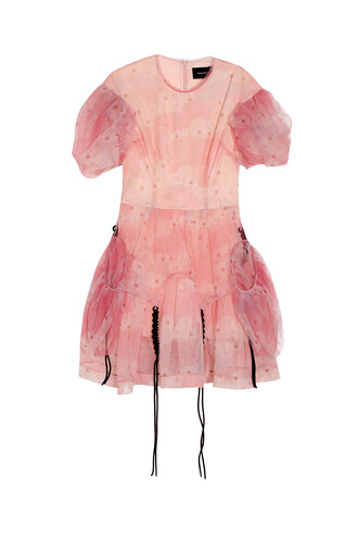 dress tulle dress pink