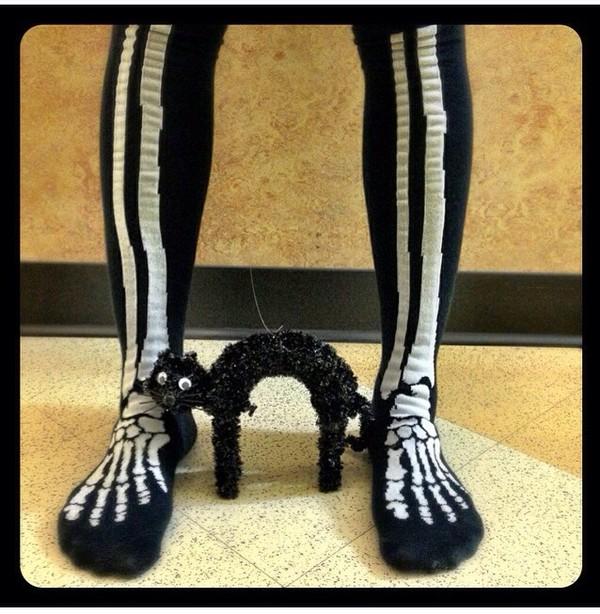 socks cool socks halloween socks awesome socks black & white socks skeleton skeleton. halloween costume halloween