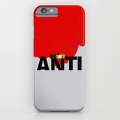 phone cover,album,music,anti,r8,cool,typo,quote on it,name,red,pop,rock,rihanna,iphone,style,vintage,retro,crown,quote on it phone case,phone,tumblr,bad gal,instagram,iphone cover,society 6