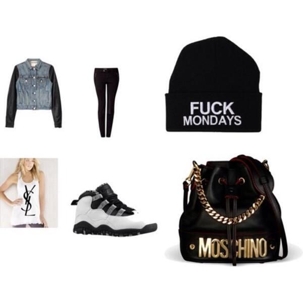 jacket denim jacket black lether jordan cute hat