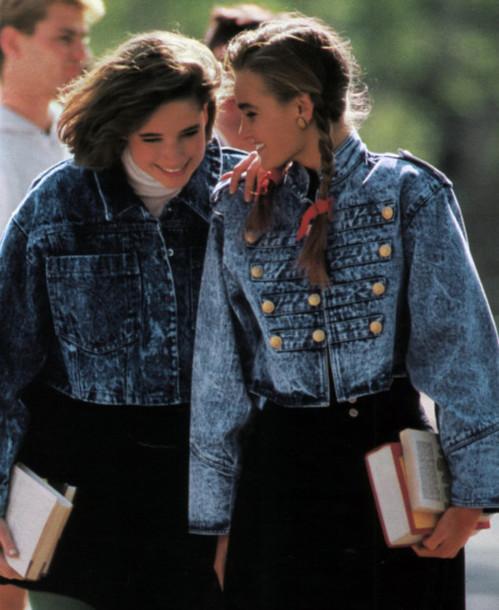 b96d914d817 jacket vintage 80s style denim jacket denim jacket vintage coat acid wash denim  jacket jean jackets