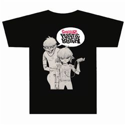 Gorillaz bang black t