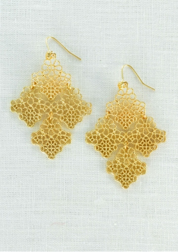 Romance Lace Inspired Earrings - Happiness Boutique