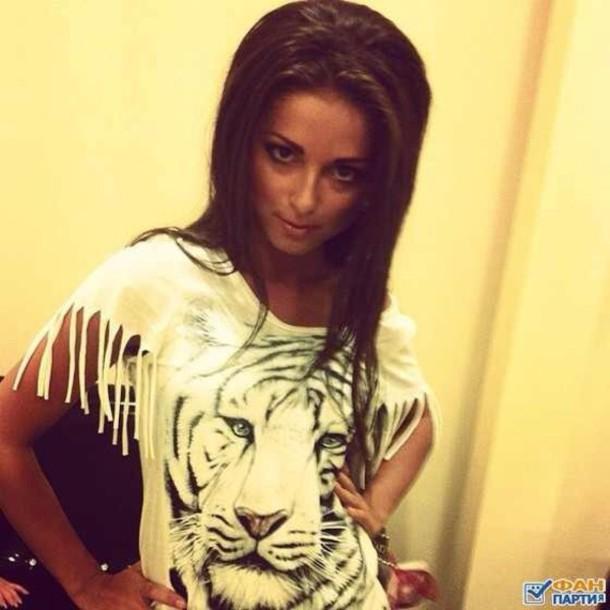 shirt nyusha_nyusha russian singer beautiful