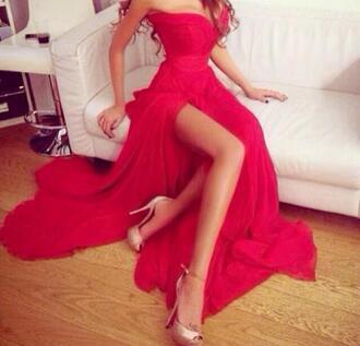 dress prom prom dress red dress pink dress bustier dress