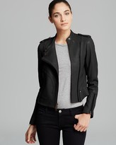 Theory Women's Leather Jackets - ShopStyle