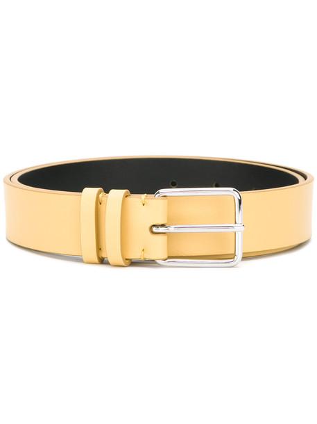 Jil Sander soft belt - Yellow & Orange