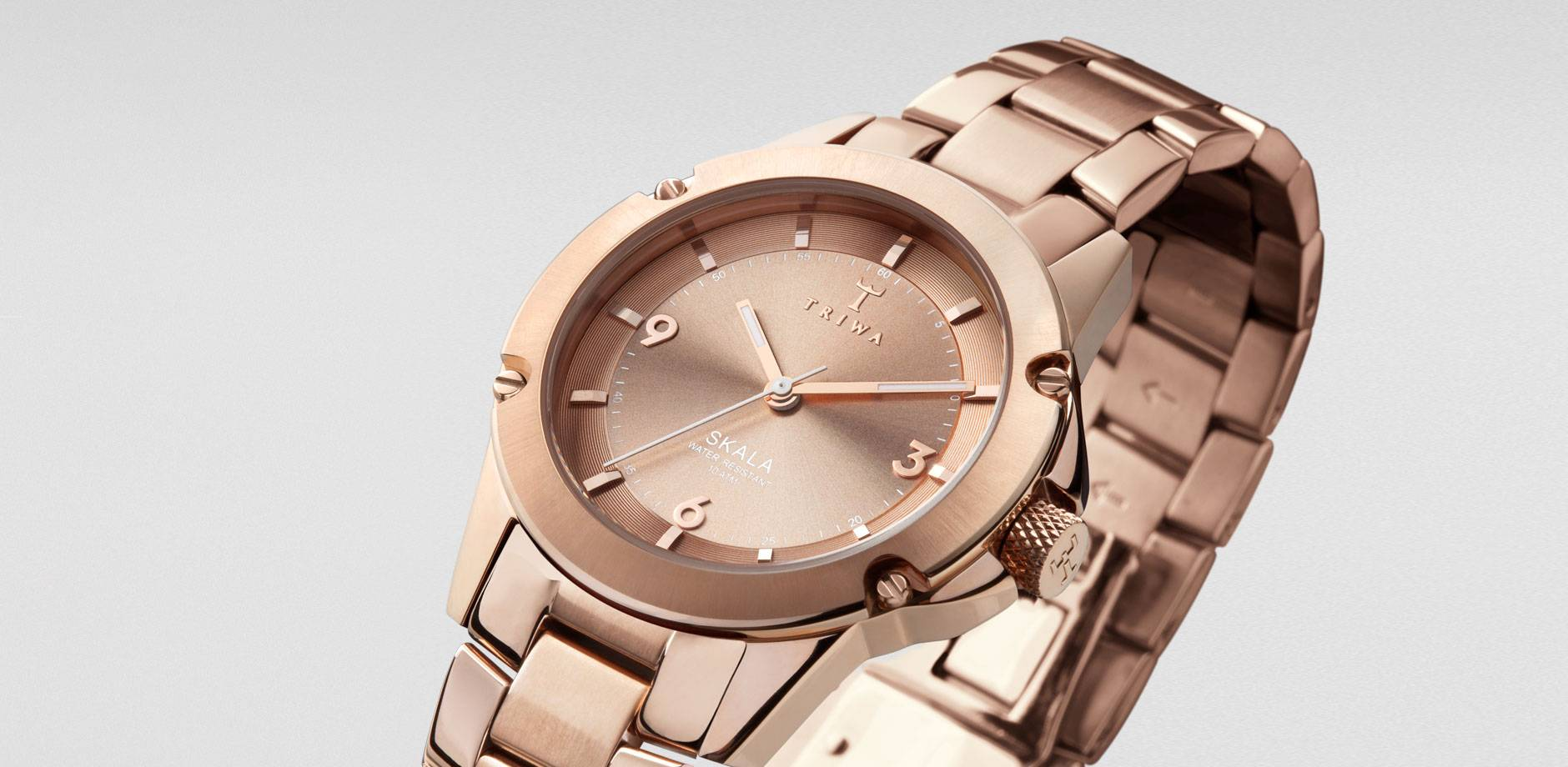TRIWA - Watch - Rose Skala