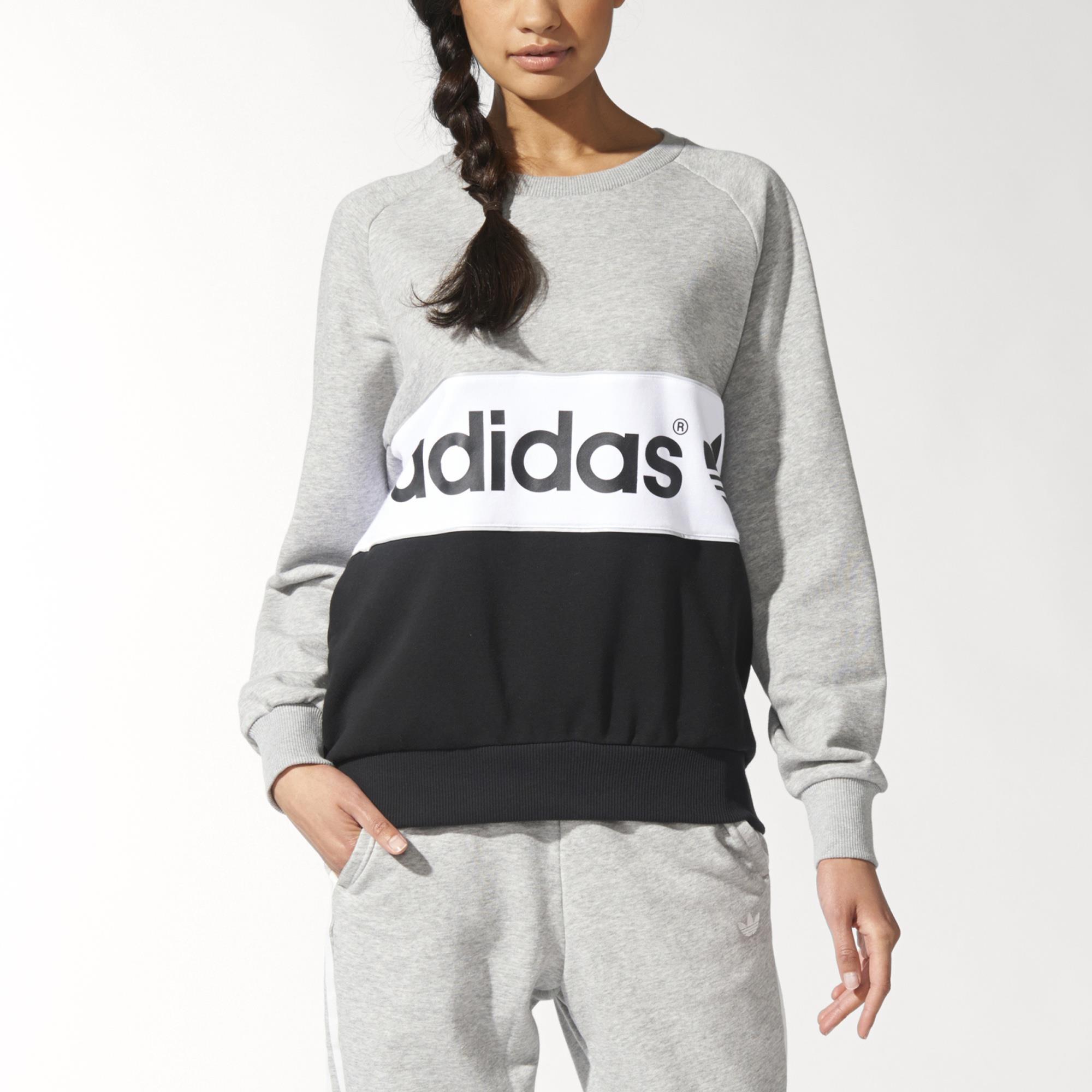 adidas City Tokyo Sweatshirt - Grey  f9876b683f5c