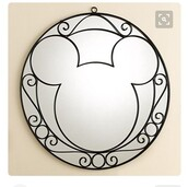 home accessory,mickey mirror,mirror,mickey mouse