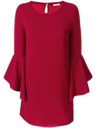 dress mini dress mini women red