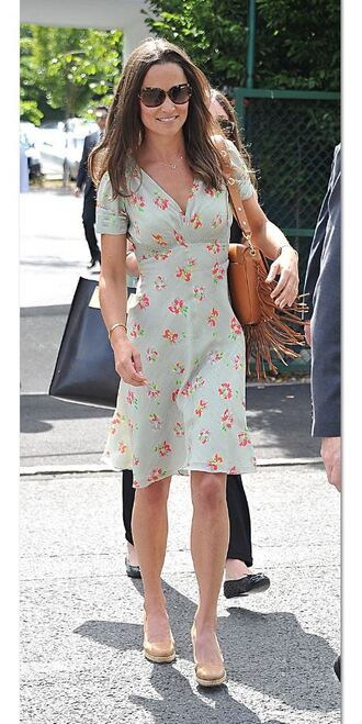 dress floral summer summer dress pippa middleton