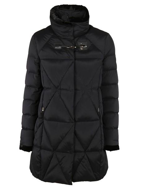 FAY jacket down jacket zip black