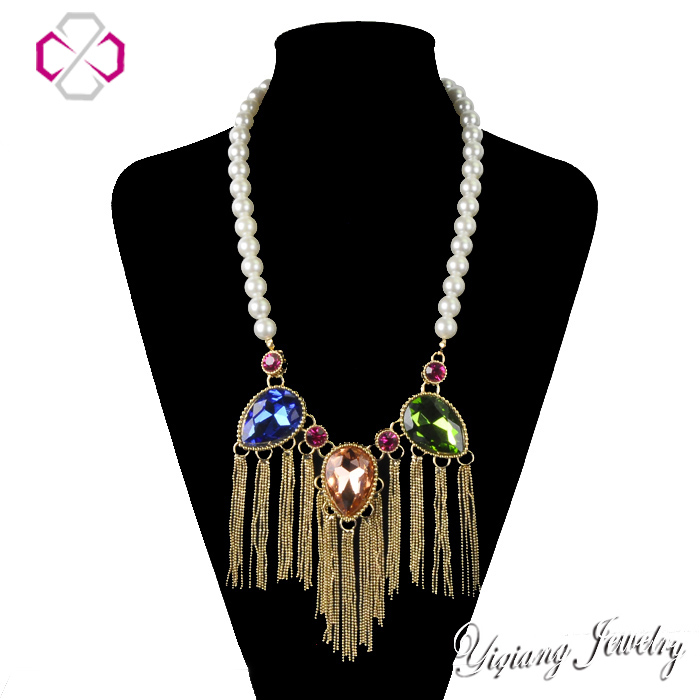 Aliexpress.com : Buy za Brand  Luxury Peal Necklace Fashion Crystal Choker Necklace & Pendant for Women Collars Jewelry  Vintage Tassel NecklaceN1060 from Reliable pendant box suppliers on JIA NI JEWELRY CO,.LTD