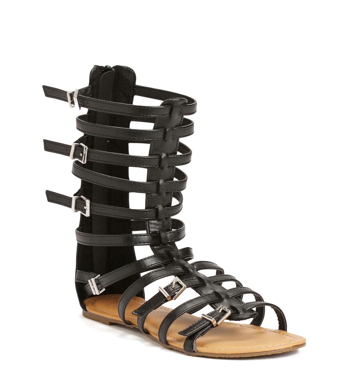 Gladiator Buckle Sandals