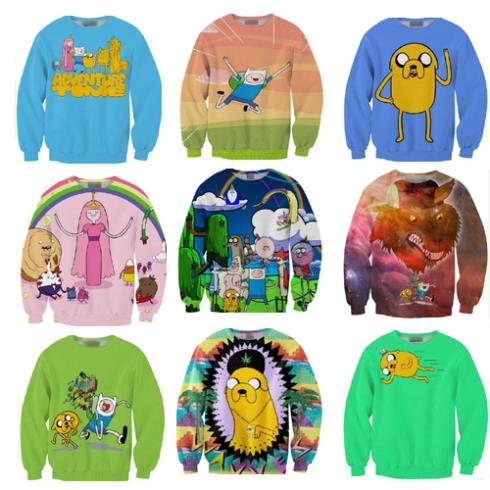 Aliexpress.com : Buy 2014 new 3d print cartoon adventures time land funny jake finn Bubblegum pink blue long sleeve sweatshirts pullovers for woman from Reliable pullover sweatshirt women suppliers on Stylish Harajuku