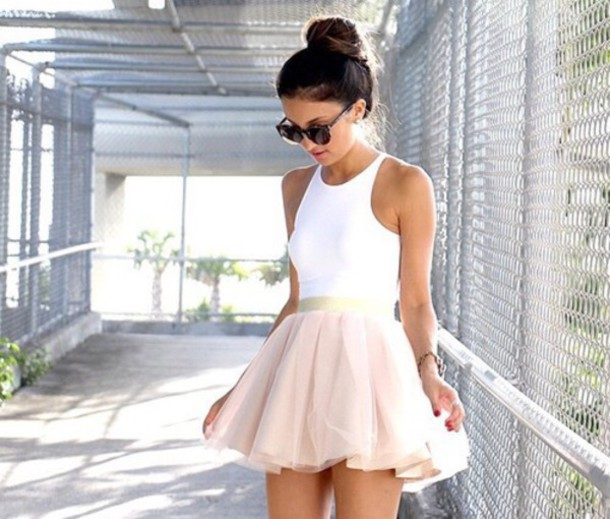 Dress: little white dress, white dress, tumblr outfit, cute dress ...