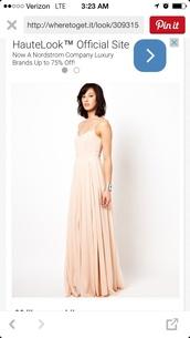 dress,blush pink